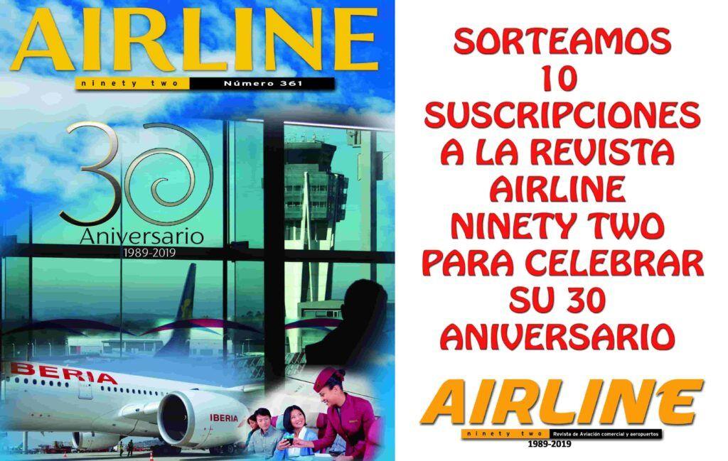 imagen del 30 aniversario de airline 361